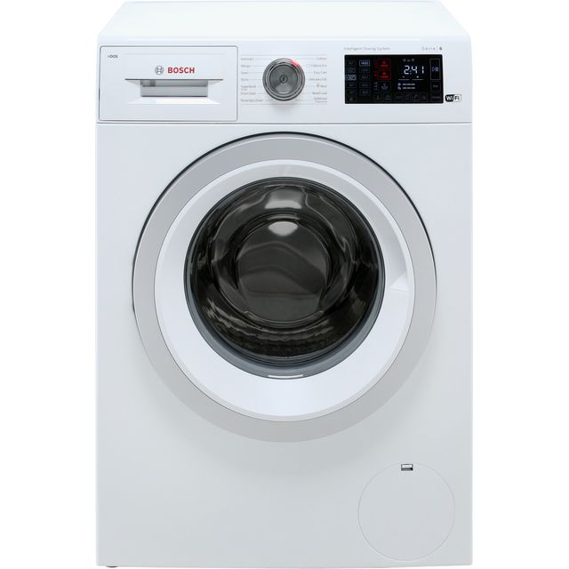 Bosch Serie 6 i-Dos™ WAT286H0GB Wifi Connected 9Kg Washing Machine with 1400 rpm - White - A+++ Rated - WAT286H0GB_WH - 1