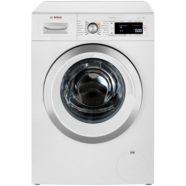 bosch waw28560gb serie 8 a 9kg 1400 spin washing. Black Bedroom Furniture Sets. Home Design Ideas