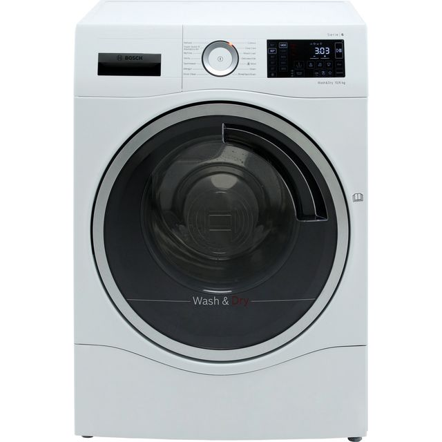 Bosch Serie 6 WDU28560GB 10Kg / 6Kg Washer Dryer - White - WDU28560GB_WH - 1