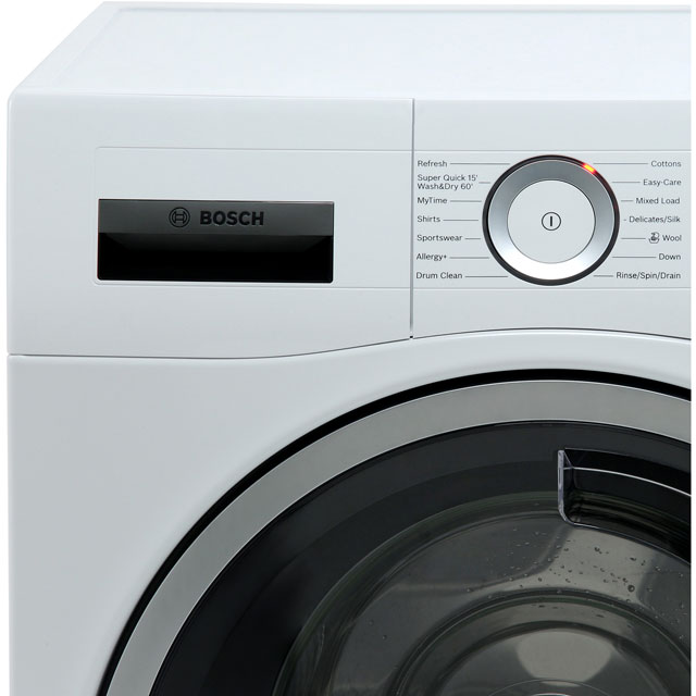 Bosch Serie 6 WDU28560GB 10Kg / 6Kg Washer Dryer - White - WDU28560GB_WH - 4