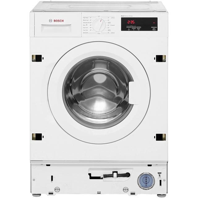 Bosch Serie 6 WIW28300GB Built In 8Kg Washing Machine - White - WIW28300GB_WH - 3