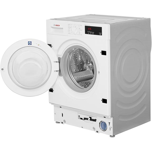 Bosch Serie 6 WIW28300GB Built In 8Kg Washing Machine - White - WIW28300GB_WH - 4