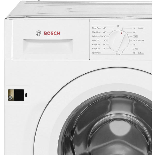 Bosch Serie 6 WIW28300GB Built In 8Kg Washing Machine - White - WIW28300GB_WH - 5