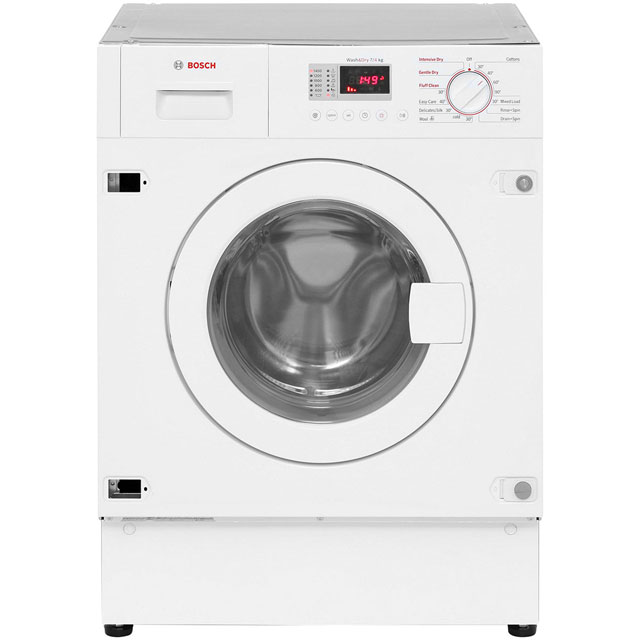 Bosch Serie 4 WKD28351GB Built In Washer Dryer - White - WKD28351GB_WH - 3