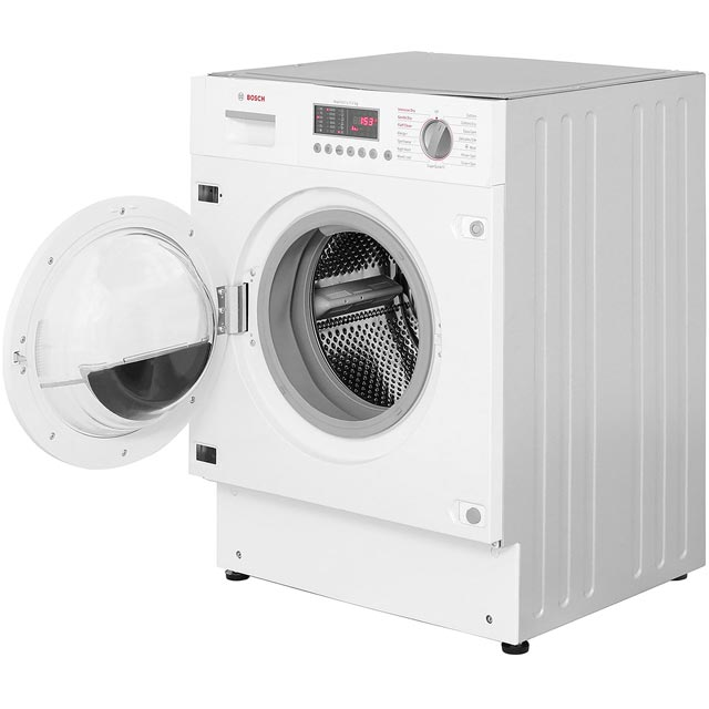 Bosch Serie 6 WKD28541GB Built In Washer Dryer - White - WKD28541GB_WH - 4