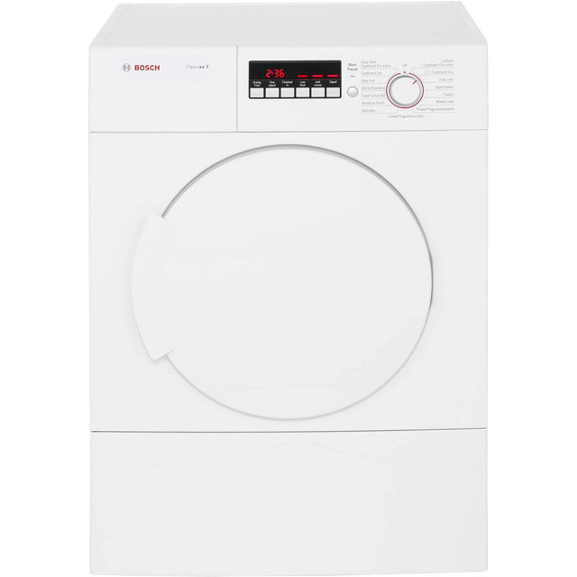 Bosch Serie 4 WTA74200GB Free Standing Vented Tumble Dryer in White