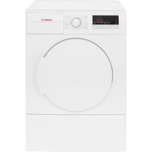 Bosch Serie 4 WTA79200GB Vented Tumble Dryer - White - WTA79200GB_WH - 1