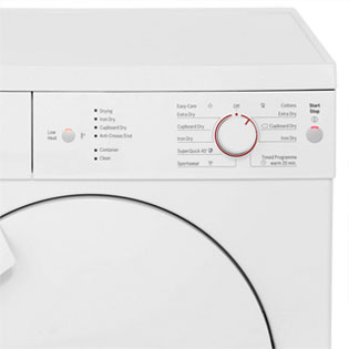 Bosch Serie 4 WTE84106GB Condenser Tumble Dryer - White - WTE84106GB_WH - 4