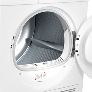 Bosch Serie 4 WTE84106GB Condenser Tumble Dryer - White - WTE84106GB_WH - 5