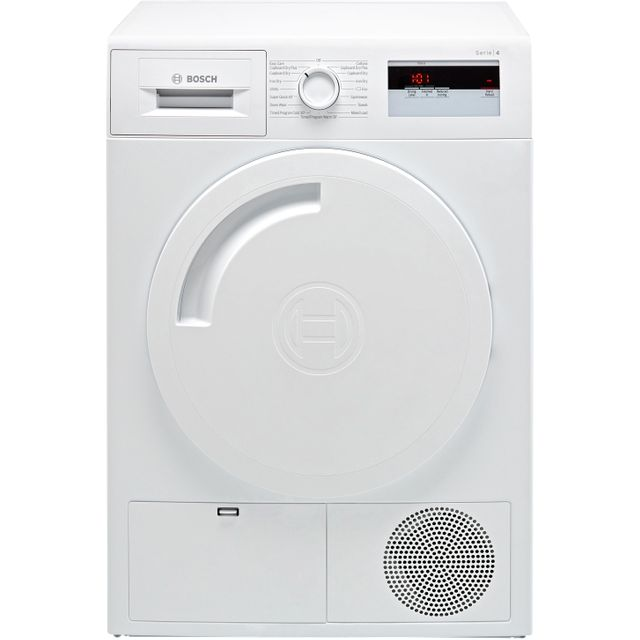 Bosch Serie 4 WTH84000GB 8Kg Heat Pump Tumble Dryer - White - A+ Rated - WTH84000GB_WH - 1