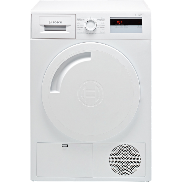 Bosch Serie 4 WTH84000GB Heat Pump Tumble Dryer - White