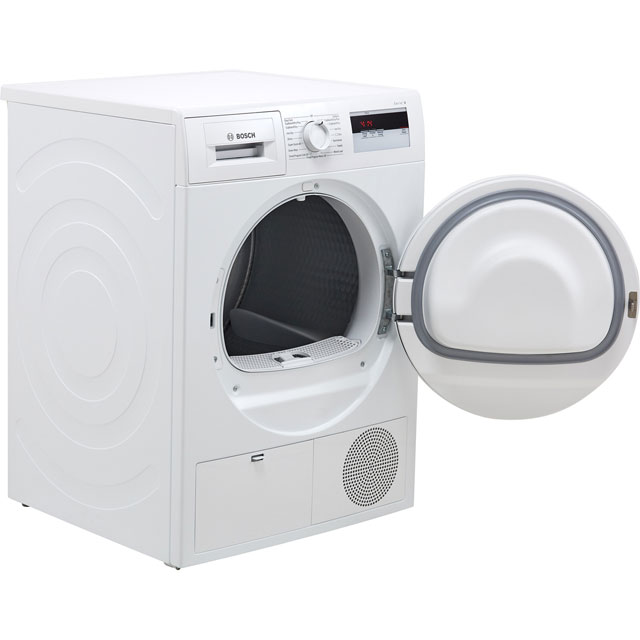 Bosch Serie 4 WTH84000GB 8Kg Heat Pump Tumble Dryer - White - A+ Rated - WTH84000GB_WH - 5