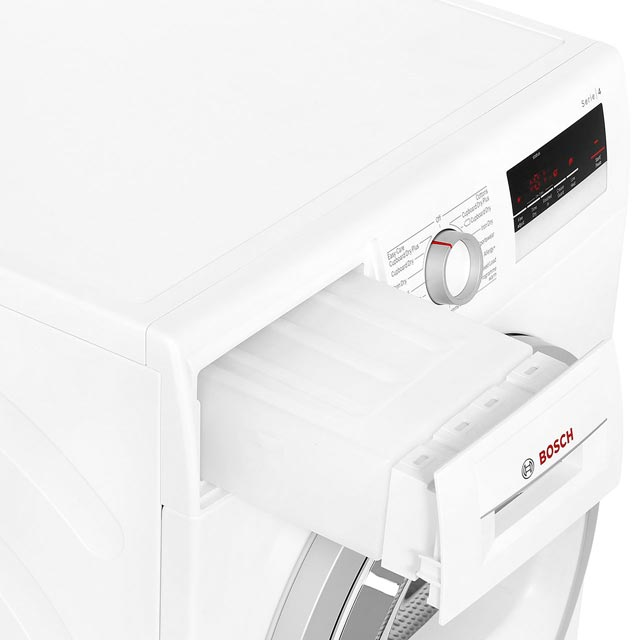 Bosch Serie 4 WTN85200GB Condenser Tumble Dryer - White - WTN85200GB_WH - 5