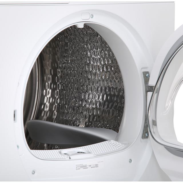 Bosch Serie 4 WTN85250GB Condenser Tumble Dryer - White - WTN85250GB_WH - 5