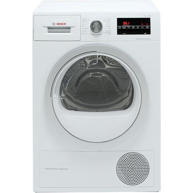 Bosch Serie 6 Free Standing Condenser Tumble Dryer in White