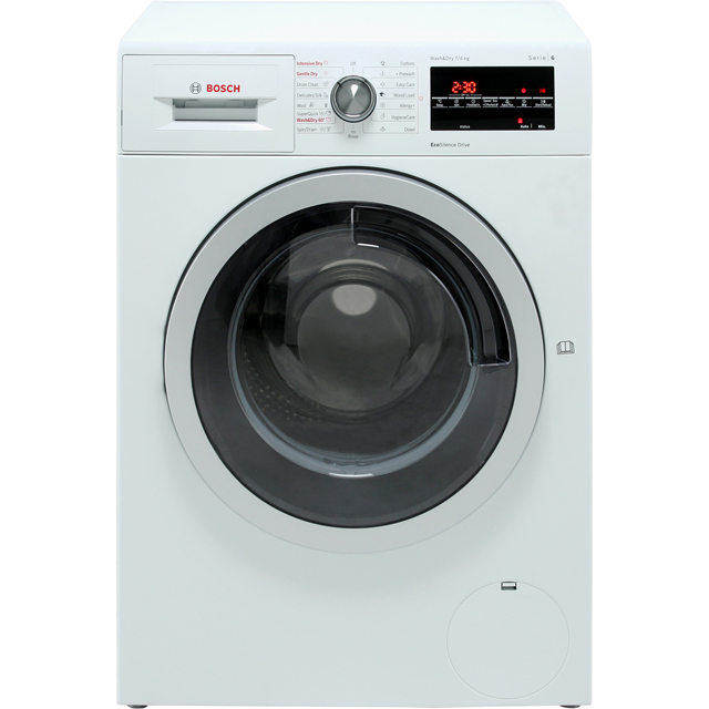 Bosch Serie 6 WVG30462GB 7Kg / 4Kg Washer Dryer - White - WVG30462GB_WH - 1