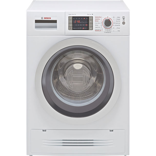 Bosch Serie 6 WVH28424GB 7Kg / 4Kg Washer Dryer with 1400 rpm - White - WVH28424GB_WH - 1