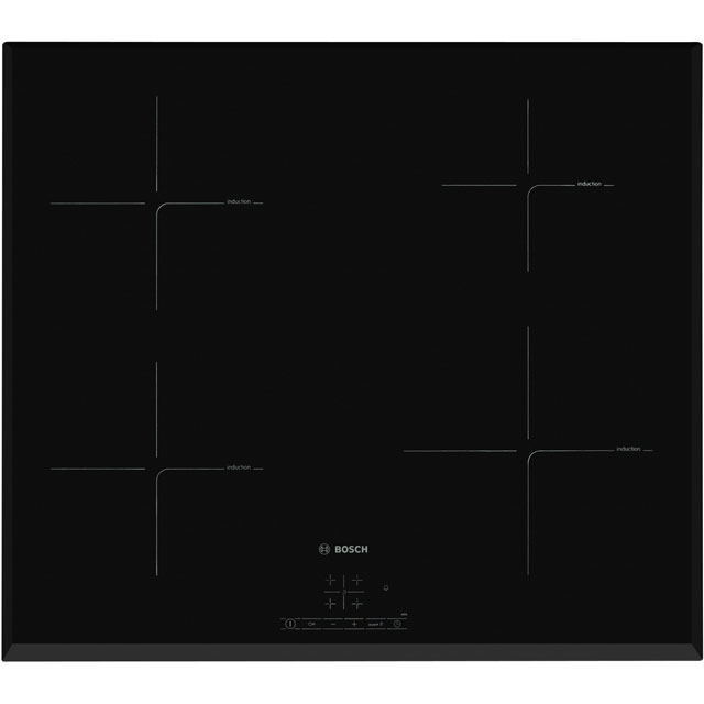 Bosch Serie 4 PIE651BB1E 59cm Induction Hob - Black - PIE651BB1E_BK - 1