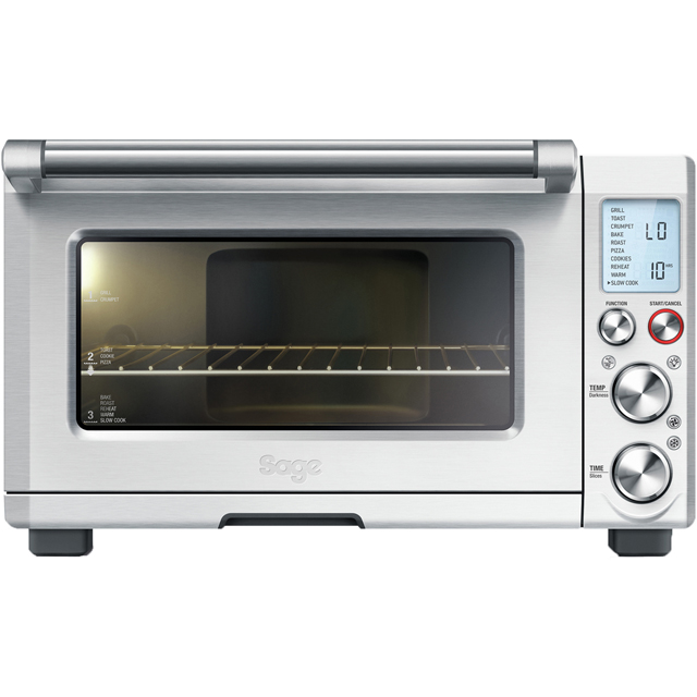 Sage by heston blumenthal the smart oven pro bov820bss mini oven in stainless steel small appliances - Kitchenaid mini oven ...