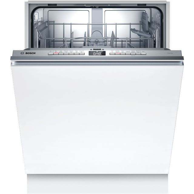 Bosch Serie 4 SMV4HTX27G Wifi Connected Fully Integrated Standard Dishwasher - Stainless Steel Control Panel - E Rated