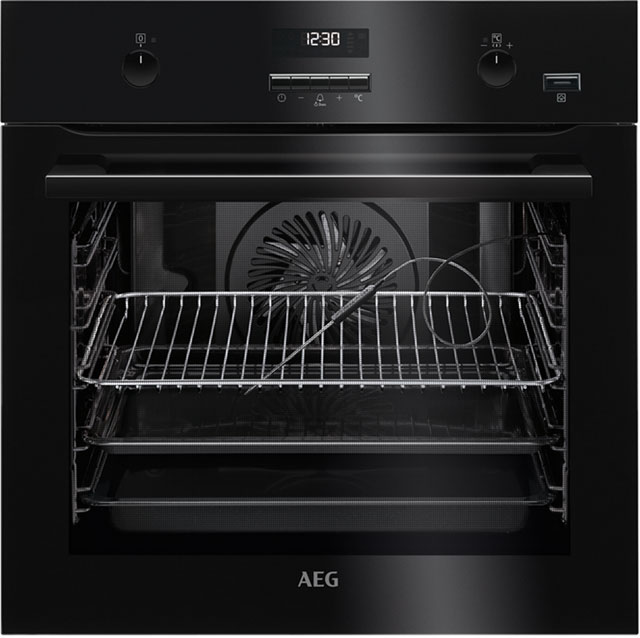 AEG BPE552220B Integrated Single Oven in Black