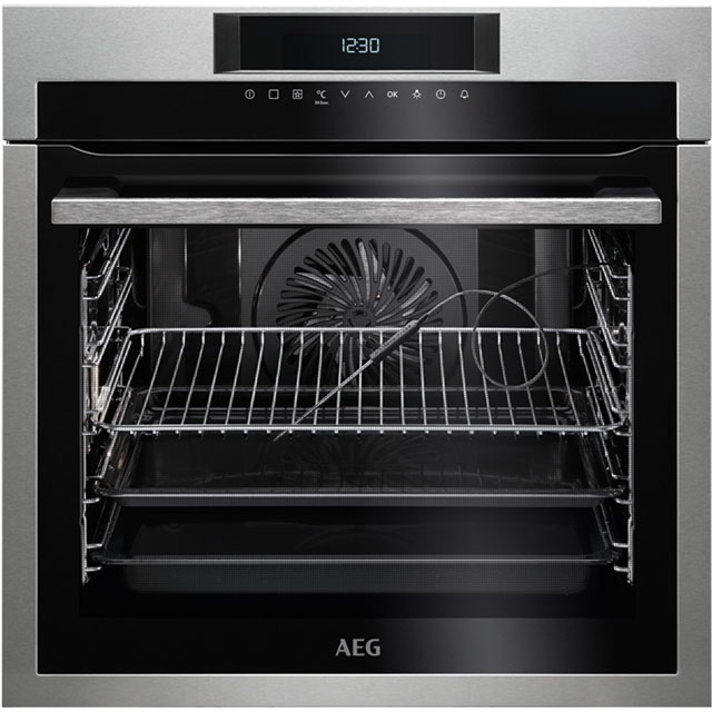 AEG Mastery Electric Single Oven - Stainless Steel - A+ Rated