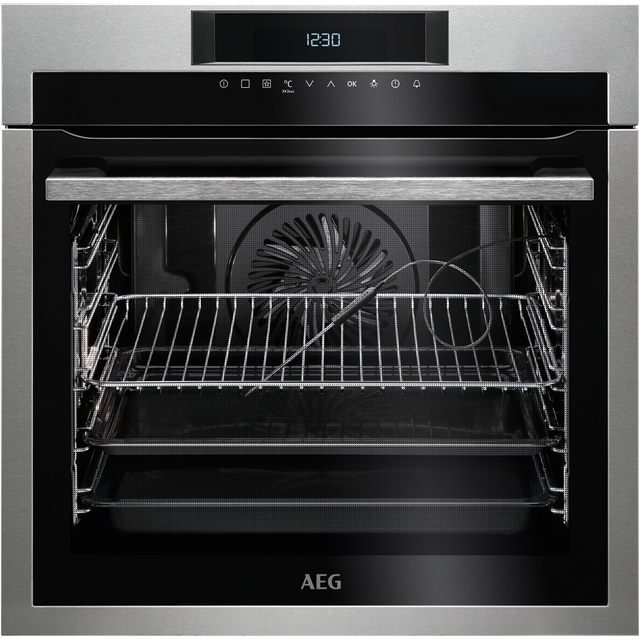 AEG Mastery BPE642020M Built In Electric Single Oven - Stainless Steel - A+ Rated