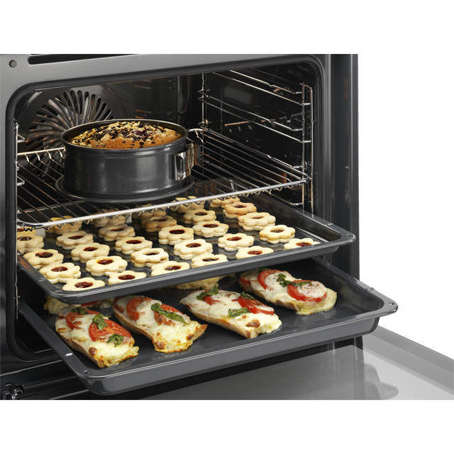 AEG Mastery BPE642020M Built In Electric Single Oven - Stainless Steel - BPE642020M_SS - 3