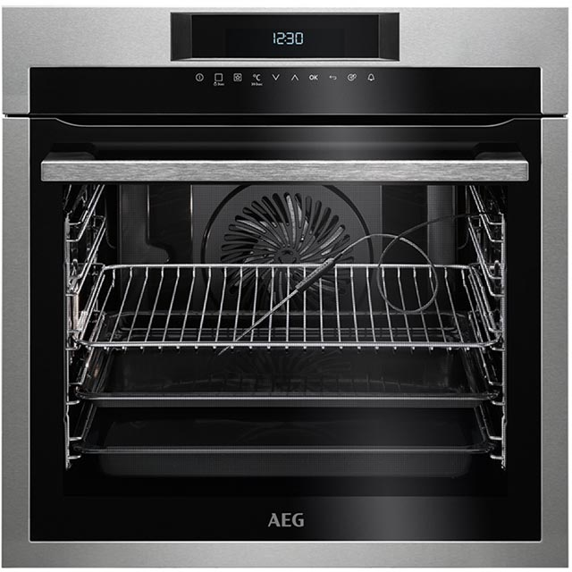 AEG Mastery BPE742320M Integrated Single Oven in Stainless Steel
