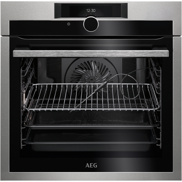 AEG Mastery BPE842720M Built In Electric Single Oven - Stainless Steel - BPE842720M_SS - 1