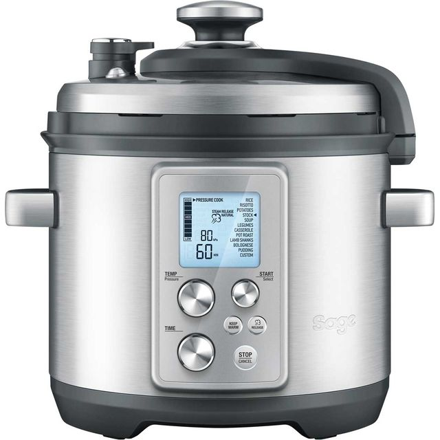 Sage The Fast Slow Pro BPR700BSS 6 Litre Slow Cooker - Stainless Steel