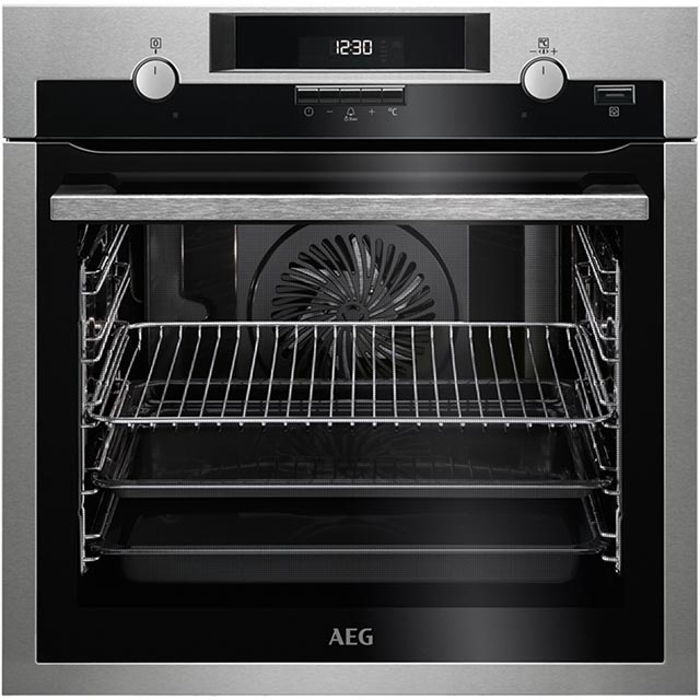 AEG Mastery BPS45102LM Built In Electric Single Oven with added Steam Function - Stainless Steel - A+ Rated