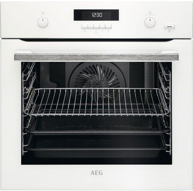 AEG BPS551020W Built In Electric Single Oven - White - A+ Rated
