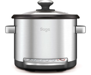 Image of Sage By Heston Blumenthal The Risotto Plus BRC600UK Multi Cooker in Stainless Steel