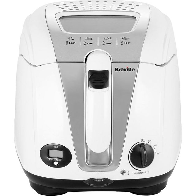 Breville Easy Clean Digital VDF108 Fryer - White - VDF108_WH - 1