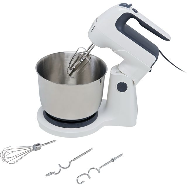 Breville VFM031 Stand Mixer with 3.7 Litre Bowl - White / Grey