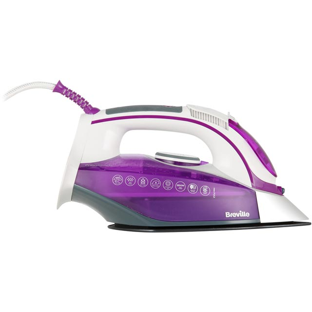 Breville PressXpress 2600W VIN339 2800 Watt Iron -Purple