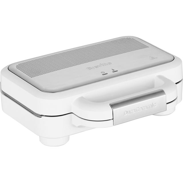 Breville Deep Fill VST074 Sandwich Toaster - White / Stainless Steel