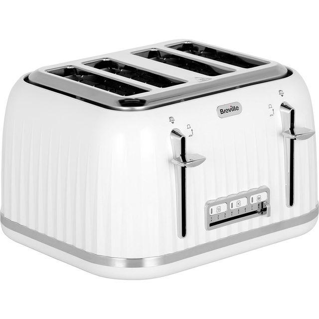 Breville Impressions Collection VTT470 4 Slice Toaster - White