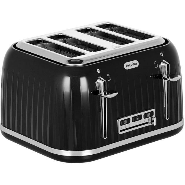 Breville Impressions VTT476 4 Slice Toaster - Black