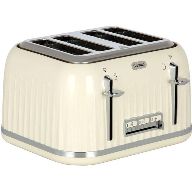 Breville Impressions VTT702 4 Slice Toaster - Cream