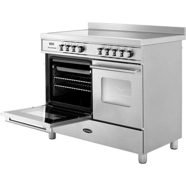 Britannia RC-10TI-DE-CR Delphi 100cm Electric Range Cooker - Cream - RC-10TI-DE-CR_CR - 2
