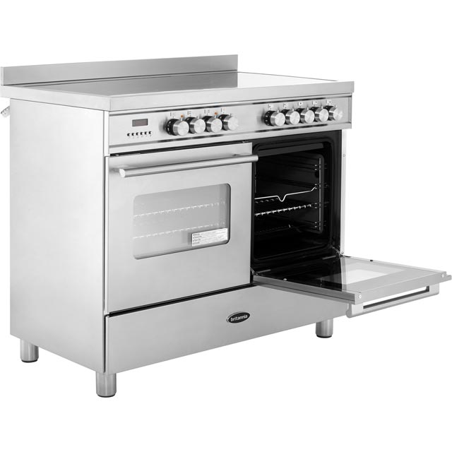 Britannia RC-10TI-DE-CR Delphi 100cm Electric Range Cooker - Cream - RC-10TI-DE-CR_CR - 3