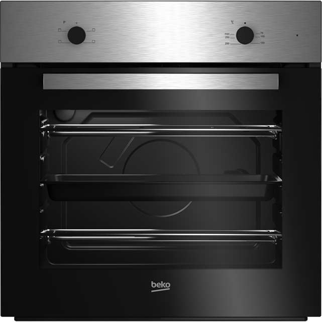 Beko BRIC21000X Built In Electric Single Oven - Stainless Steel - A Rated - BRIC21000X_SS - 1