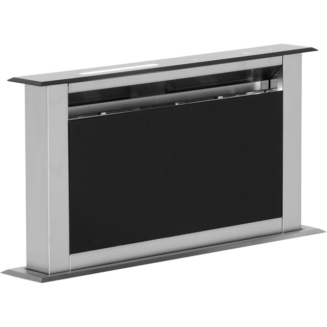 BEST Lift HOOD-BE-LI-60-GL 56 cm Downdraft Cooker Hood - Black Glass - C Rated - HOOD-BE-LI-60-GL_BK - 1
