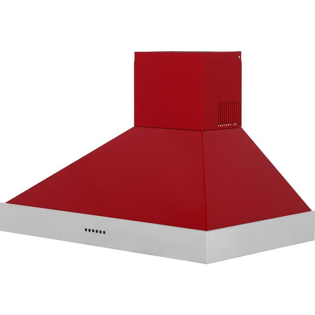 Britannia Latour HOOD-BTH90-GR 90 cm Chimney Cooker Hood - Red - A Rated