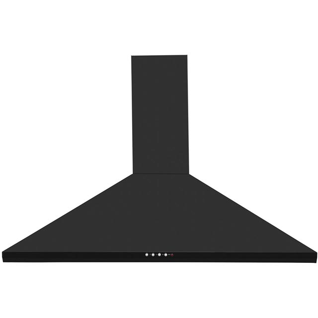Britannia Brioso HOOD-K240-10-K Integrated Cooker Hood in Black Gloss