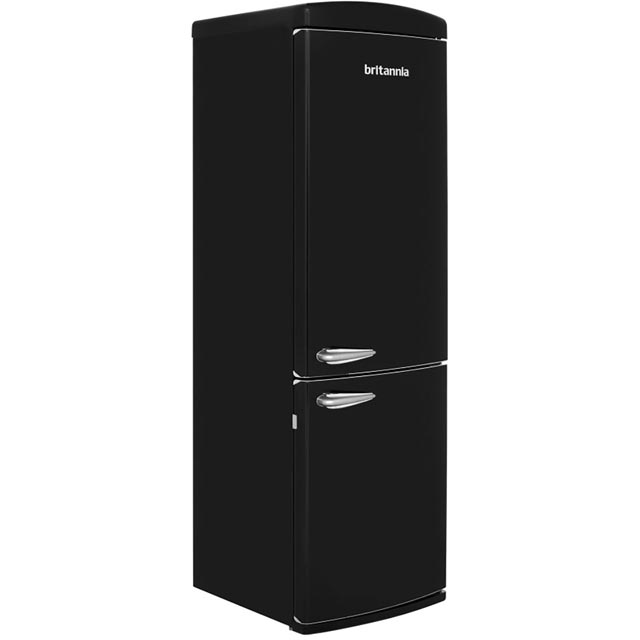 Britannia Breeze Retro 544446212 70/30 Frost Free Fridge Freezer - Black - A+ Rated
