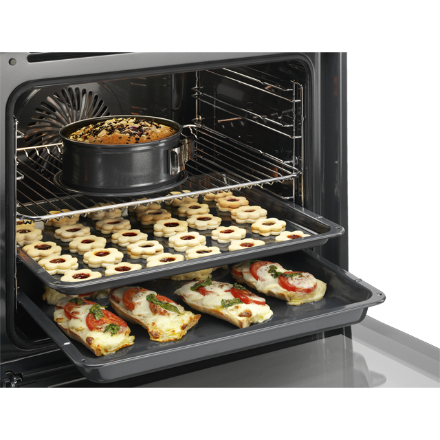 AEG Mastery BSE574221M Built In Electric Single Oven - Stainless Steel - BSE574221M_SS - 4