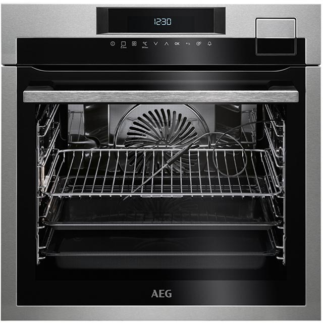 AEG Mastery BSE792320M Built In Electric Single Oven - Stainless Steel